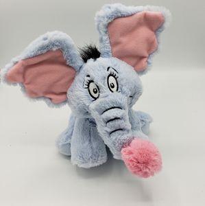 Dr Seuss Horton hears a who plush Horton